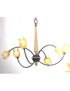 Vian Collection 6600/6 Medusa 6L suspension Lamp