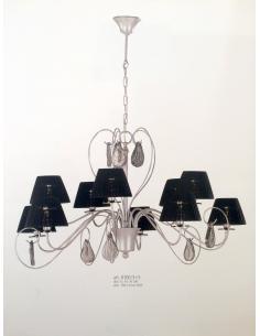 Vian Collection 8100/5+5 Pelope suspension Lamp 10luci