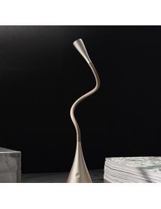 Perenz 5912 OR Lampada Da Tavolo Flex In Plastica E Metallo Oro