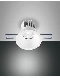 Fabas 344572346 SIGMA recessed Spotlight white-round
