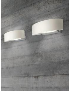 Murano Luce Light 4 APEL33 Elle Lampada da Parete 33 Nero
