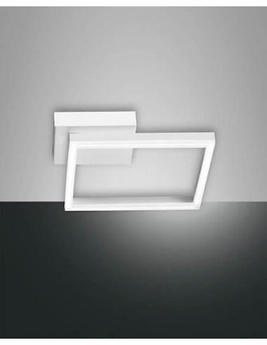Fabas 3394 21 102 bard lampada da parete quadrato piccola for Luci led piccole