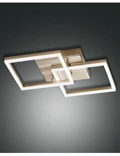 Fabas 3394-45-102 Bard, Chandelier pendant, Rectangular White