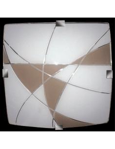 LORA F33830X30TO Lampada a soffitto Quadrata 30X30 2XE27