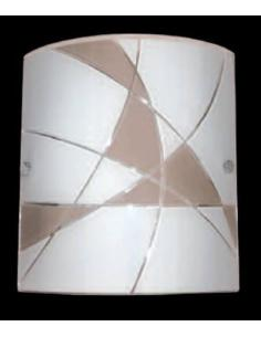 LORA F338ATO Lampada da parete rettangolare 21X19cm