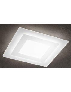 PERENZ 6362 B LC Plafoniera in metallo e plexiglass