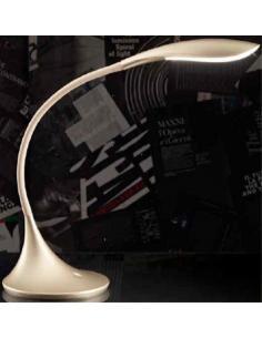 PERENZ 6034 OR Lampada da tavolo flex in plastica colore oro