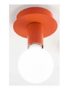 PERENZ 6248 AR Plafoniera in metallo colore arancione