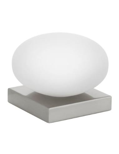 ETOO - LAMAPADA TABLE 1L X 40W E14 NICKEL + V. OPAL