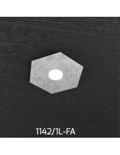 TOP LIGHT 1142/1L-FA LAMPADA PARETE/SOFFITTO HEXAGON