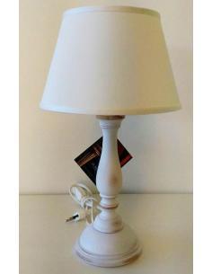DI BENEDETTO LAMPADE 017/P/BCO LAMPADA TAVOLO BIANCO