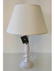 DI BENEDETTO LAMPADE 017/G/BCO LAMPADA TAVOLO BIANCO