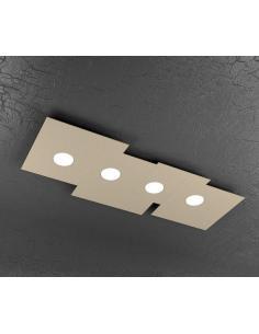 TOP LIGHT 1129/PL4-SA LAMPADA SOFFITTO PLATE