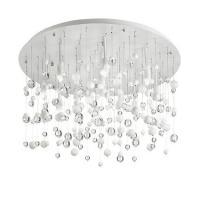 Ideal Lux 101187 Neve PL12 Lampada da Soffitto Bianco