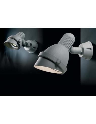BRIO spot E27 11W aluminium IP54