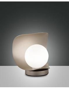 Fabas 3414-30-225 Adria Lampada da tavolo oro opaco