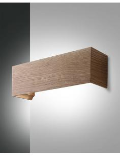 Fabas 3383-21-215 Badia Lampada da parete quercia