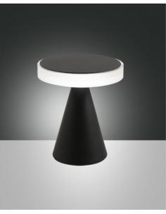Fabas 3386-34-101 Neutra Lampada da tavolo nera