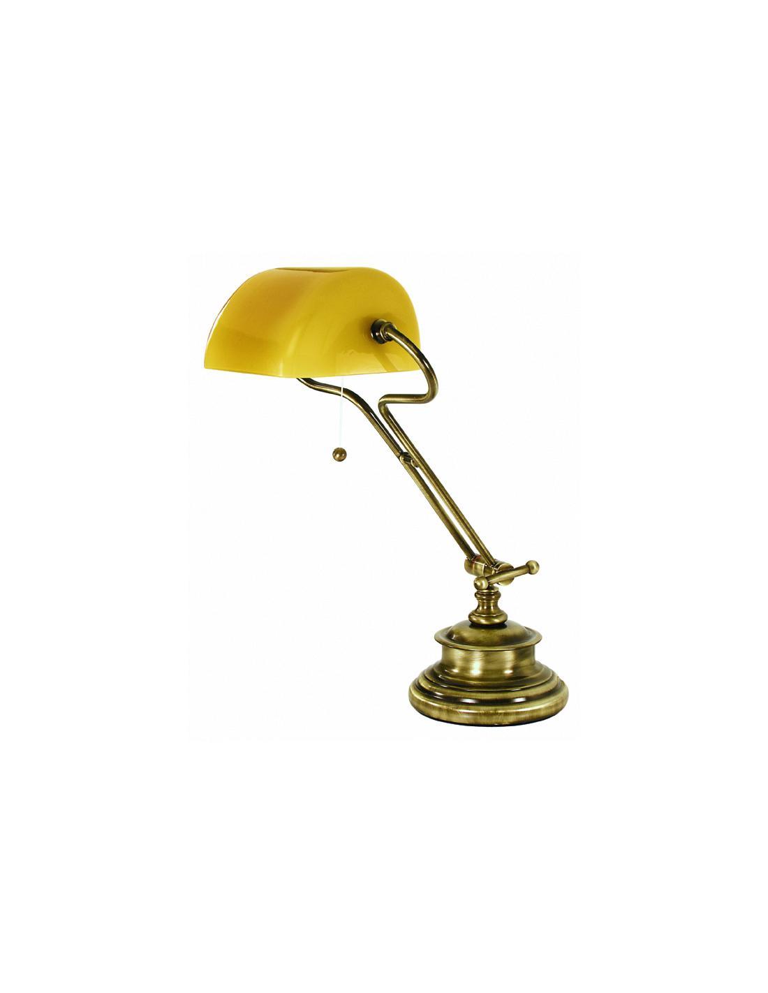 Moretti Luce 1509.A.7 Figi Lampada Da Tavolo Ottone e Vetro Soffiato
