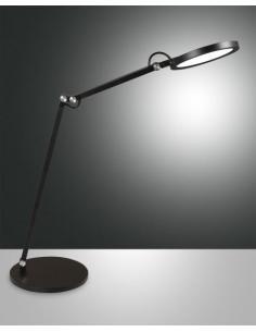 Fabas 3551-30-101 Regina Lampada da tavolo nera
