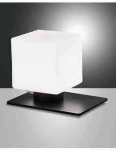 Fabas 3579-30-101 Zara Lampada da tavolo base nera