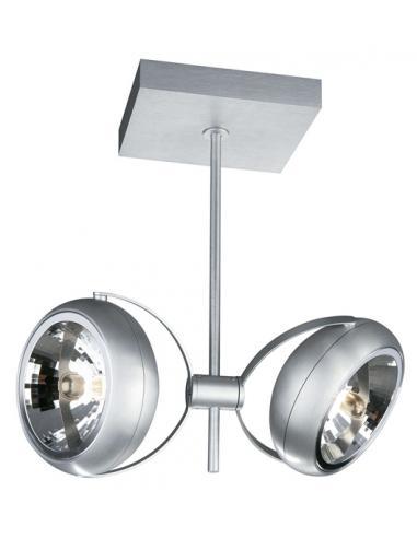 HELIA ceiling plate aluminium 2x50W 12V
