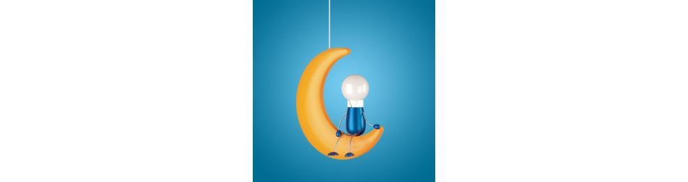 Lampadari a sospensione per bambini catalogo luce piu for Lampadari per bambini